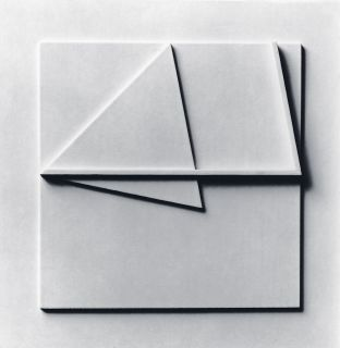 relief wood on wood 30x30cm, 1977